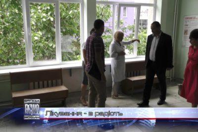 В Івано-Франківську ремонтують міську дитячу поліклініку (ВІДЕО)