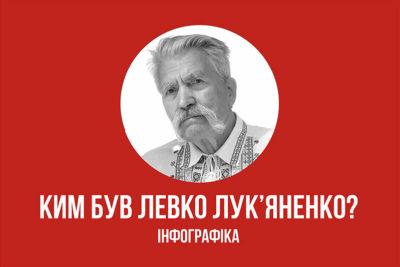 ГОЛОВНІ ФАКТИ ПРО ЛЕВКА ЛУК'ЯНЕНКА