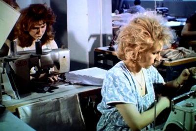 Робота франківської швейної фабрики (1989) (ВІДЕО)