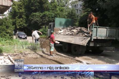«Дирекція замовника» проводить капітальні ремонти житла (ВІДЕО)