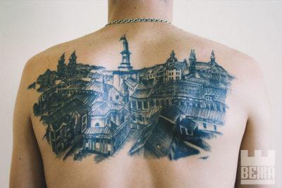 Місто на шкірі: татуювання з Івано-Франківськом (ФОТО)