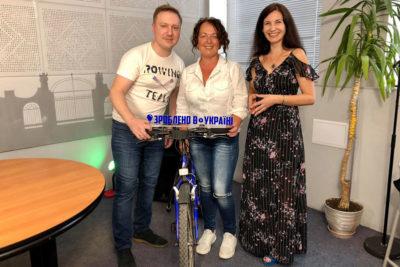 Вікторія Шахоріна. Паломницька подорож на велосипеді довжиною у 1216 км. (ВІДЕО)