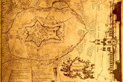 Рідкісна мапа Станиславова середини 18 століття (ВІДЕО)