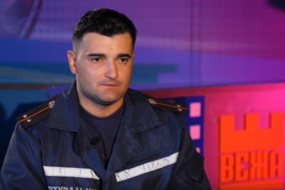 Андрій Шевчук, пожежний-рятувальник (ВІДЕО)