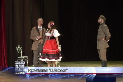 Івано-Франківські актори відтворили на сцені  трагічні події  43-го року (ВІДЕО)