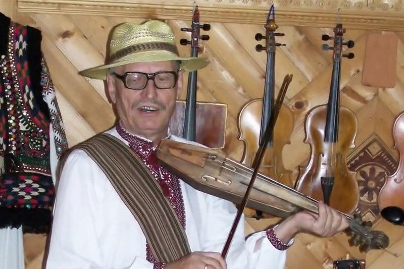 Роман Кумлик, гуцульський музикант-віртуоз (ВІДЕО)