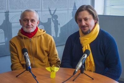 Володимир Гайдар та Михайло Дейнега. Коляда у Палаці Потоцьких (АУДІО)