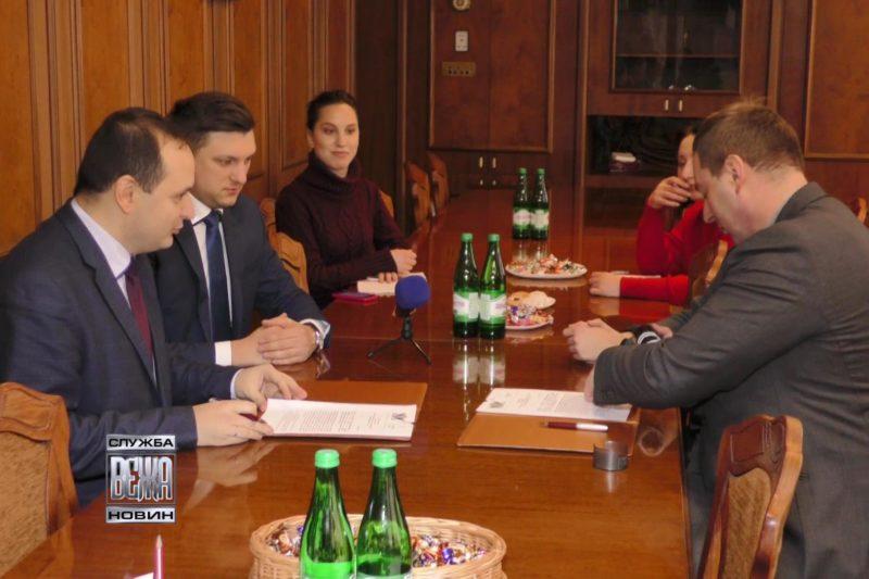 Івано-Франківська мерія підписала меморандум про співпрацю з ІТ-кластером (ВІДЕО)