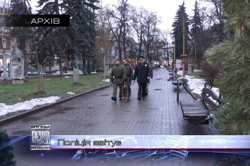 Прикарпатська поліція відзвітувала за минулий рік (ВІДЕО)