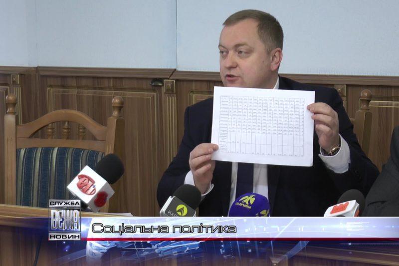 В Івано-Франківській ОДА підсумували перебіг  соціальної політики (ВІДЕО)