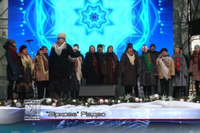 До різдвяної «Коляди на Майзлях» долучилася   Народна артистка України Ніна Матвієнко (ВІДЕО)