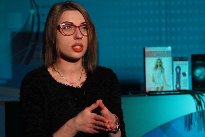 Анастасія Чернова, продавець секс-шопу (ВІДЕО)