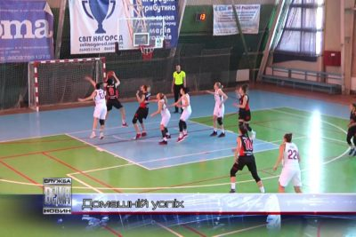 """Баскетболістки """"Франківська - ПНУ"""" виграли два домашні поєдинки (ВІДЕО)"""