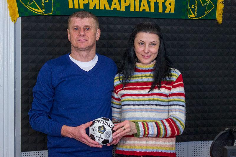 Зіновій Василів, тренер МФК «Прикарпаття» (ВІДЕО)