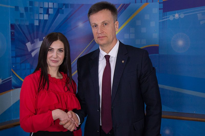 Валентин Наливайченко, кандидат в Президенти України (Передвиборна агітація) (ВІДЕО)