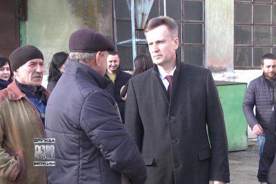 Валентин Наливайченко зустрівся  із дирекцією Івано-Франківського  комбінату хлібопродуктів (ВІДЕО)