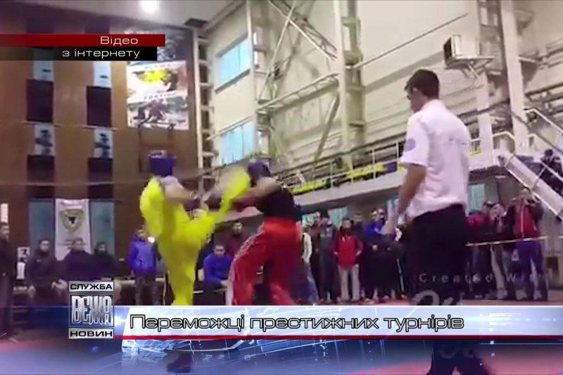 Івано-франківські кікбоксери відзначилися відразу на двох престижних турнірах (ВІДЕО)