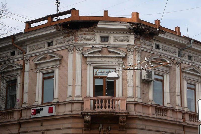 Руйнація пам'яток архітектури (ВІДЕО)