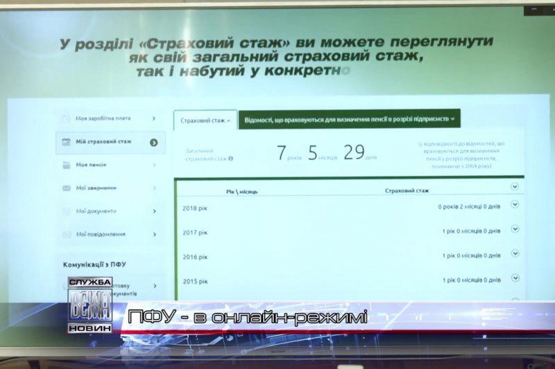 Пенсійний фонд України презентував сучасний веб-портал електронних послуг (ВІДЕО)
