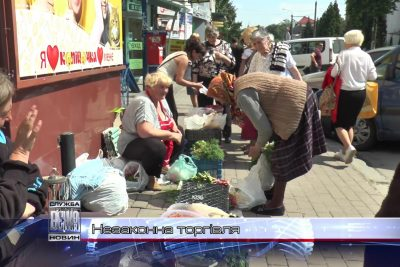 В Івано-Франківську Муніципальна варта намагається приборкати стихійну торгівлю (ВІДЕО)