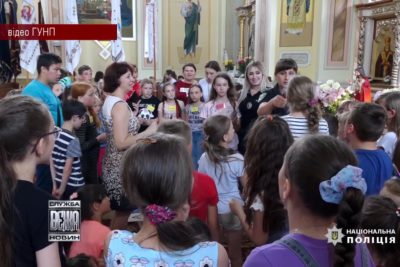 Прикарпатські поліцейські нагадали школярам про правила поведінки під час літніх канікул (ВІДЕО)