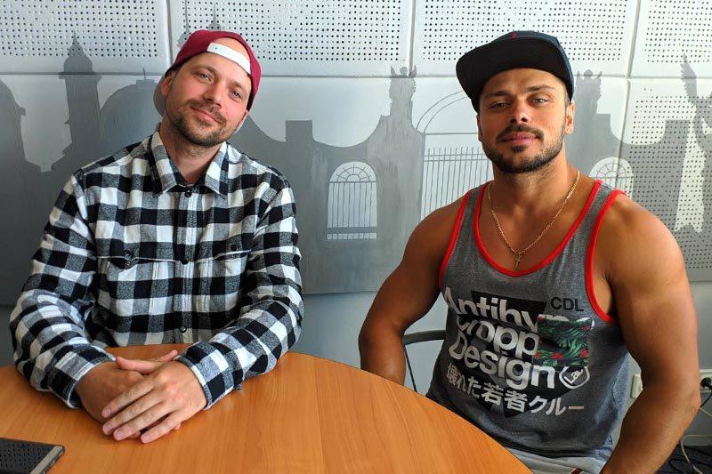 Федір Хашалов та Михайло Трифоненко запрошують на спортивне свято (АУДІО)