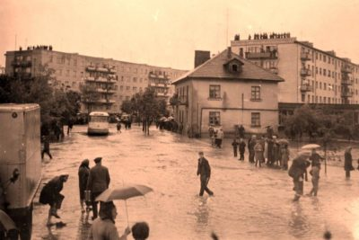 Повінь у Франківську 1969 року (ВІДЕО)