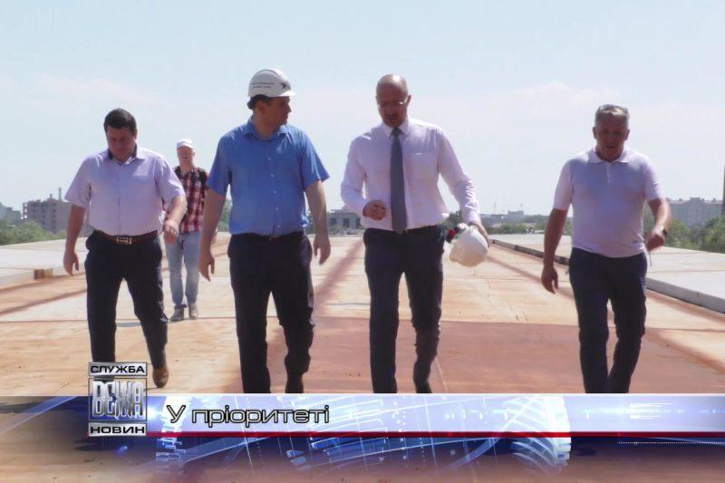Очільники міста та області відвідали ключові об'єкти, що споруджуються в Івано-Франківську (ВІДЕО)