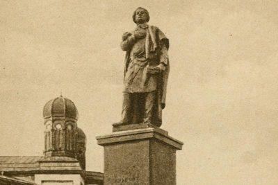 Історія пам'ятника Міцкевичу (ВІДЕО)