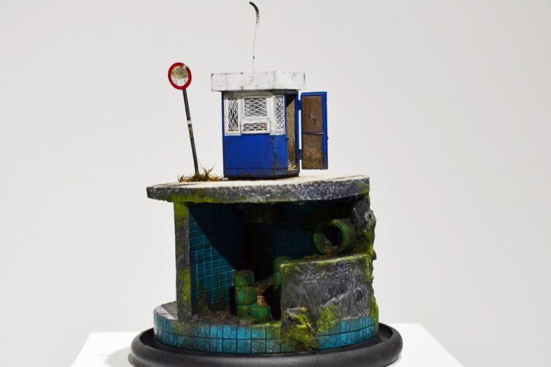 Кіоски розміром з долоню: Моделізм Сергія Міщенка (ФОТО)