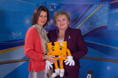Надія Загурська, директорка міського департаменту культури (ВІДЕО)