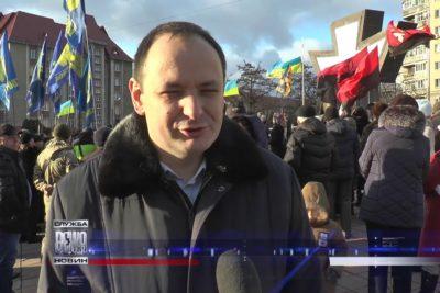 В Івано-Франківську відзначили день народження Степана Бандери  (ВІДЕО)
