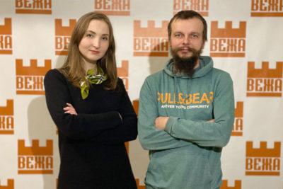 """Ініціатори виставки Михайла Стецика """"Спадок"""" - Ярема Стецик та Лілія Гоголь (АУДІО)"""