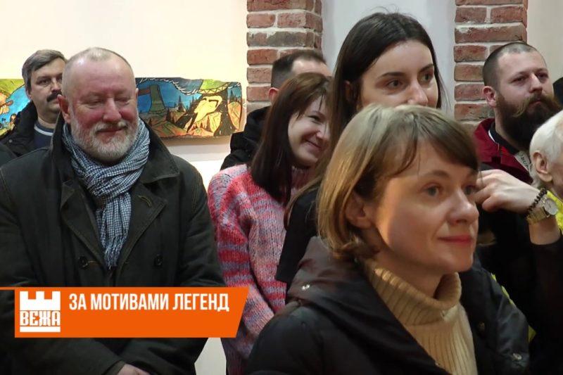 Івано-франківський художник Петро Буяк презентував реставраційний проект  (ВІДЕО)